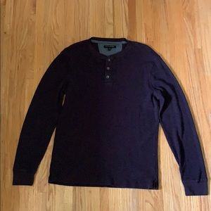 Banana Republic Long sleeve thermal Henley